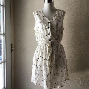Mimi Chica Arrow Design Dress M